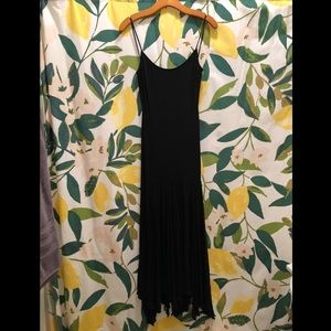 BCBG Maxazria black mermaid dress
